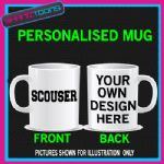 SCOUSER LIVERPOOL FUNNY SLOGAN PERSONALISED MUG GIFT
